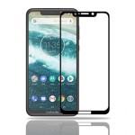 محافظ صفحه نمایش تمام چسب با پوشش کامل Glass Screen Protector For Motorola One / P30 Play