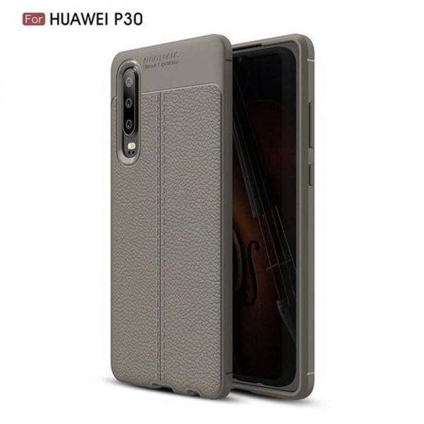 قاب ژله ای طرح چرم Auto Focus Jelly Case Huawei P30