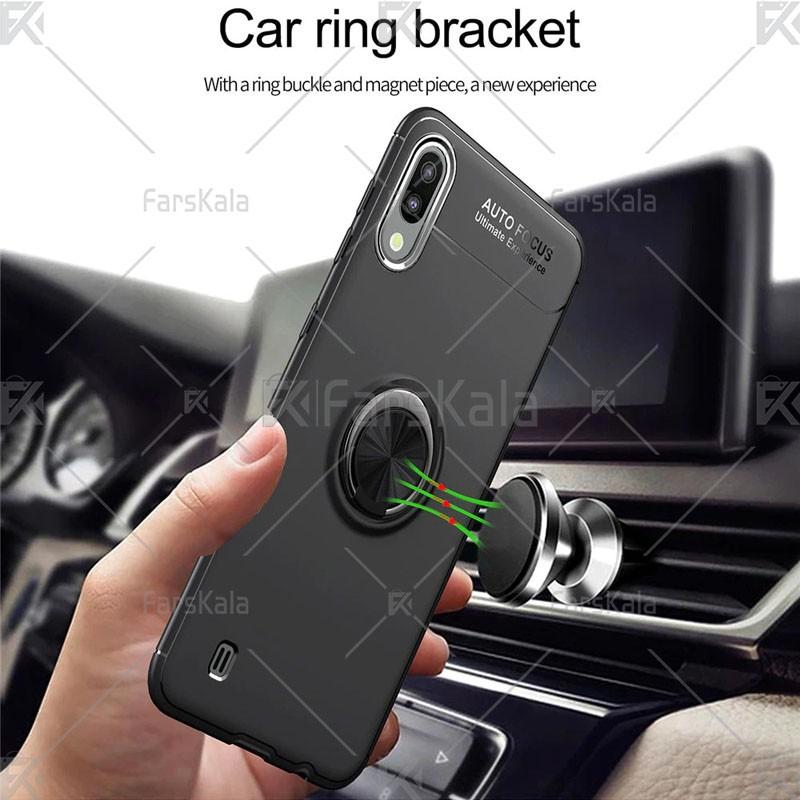 قاب محافظ ژله ای Magnetic Ring Case Samsung Galaxy M10