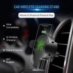 پایه نگهدارنده و شارژر وایرلس Rock W2 Car Wireless Charging Stand
