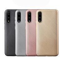 قاب محافظ ژله ای Haimen Carbon Fiber Case For Samsung Galaxy M10