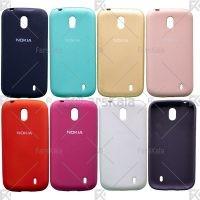 قاب محافظ سیلیکونی Silicone Case For Nokia 1