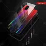 قاب محافظ لیزری رنگین کمانی سامسونگ Aurora Laser Case For Samsung Galaxy A50