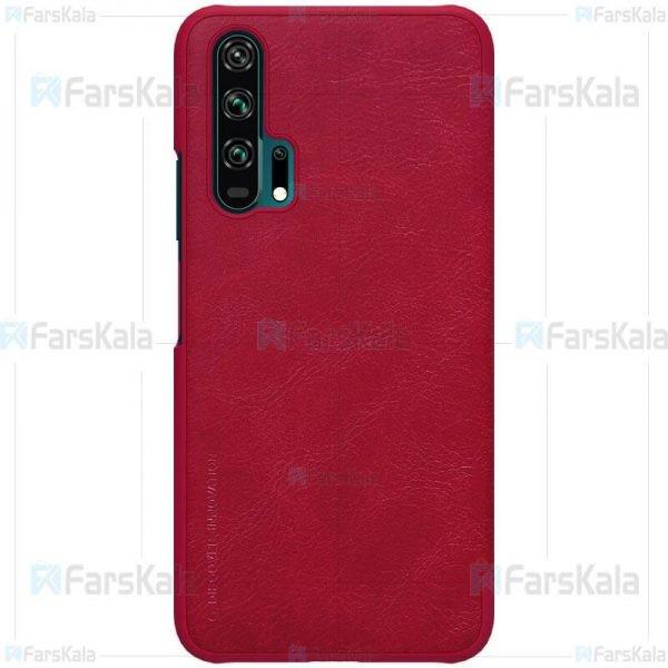 کیف چرمی نیلکین هواوی Nillkin Qin Case For Huawei Honor 20 Pro