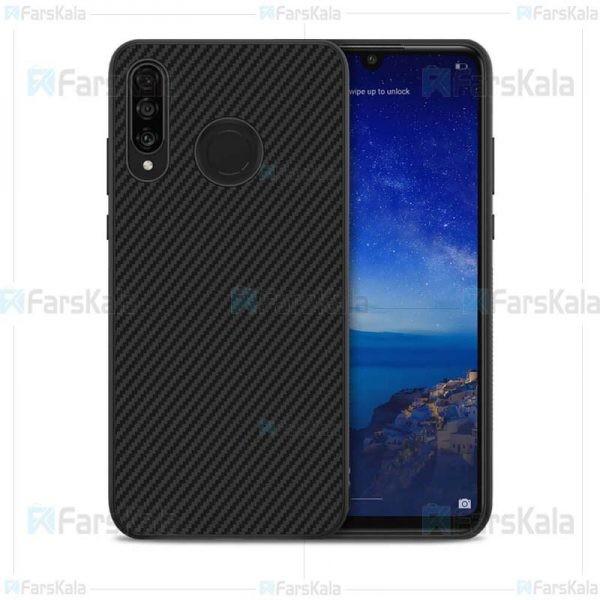 قاب محافظ فیبر نیلکین هواوی Nillkin Synthetic Fiber Case For Huawei P30 Lite / Nova 4e