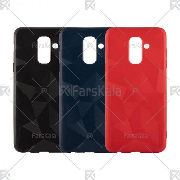 قاب محافظ ژله ای سامسونگ Diamond Silicone Case For Samsung Galaxy J8