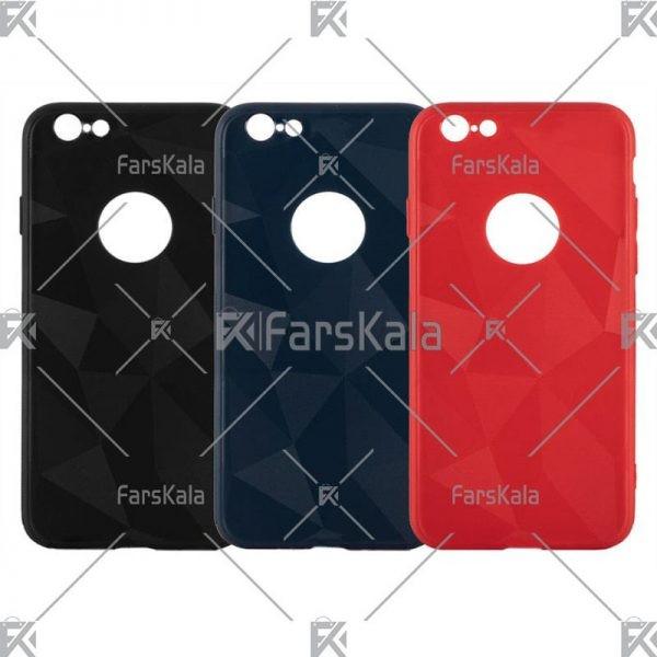 قاب محافظ ژله ای اپل Diamond Silicone Case For Apple iphone 5 & 5S