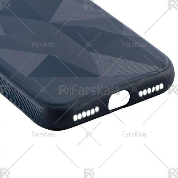 قاب محافظ ژله ای اپل Diamond Silicone Case For Apple iPhone X / XS