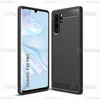 قاب محافظ ژله ای هواوی Fiber Carbon Rugged Armor Case For Huawei P30 Pro