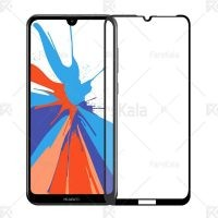 محافظ صفحه نمایش تمام چسب با پوشش کامل Full Glass Screen Protector For Huawei Y7 2019 / Y7 Prime 2019