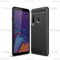 قاب محافظ ژله ای سامسونگ Fiber Carbon Rugged Armor Case For Samsung Galaxy A9s / A9 Star Pro / A9 2018