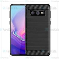 قاب محافظ ژله ای سامسونگ Fiber Carbon Rugged Armor Case For Samsung Galaxy S10e