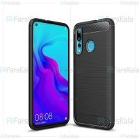 قاب محافظ ژله ای هواوی Fiber Carbon Rugged Armor Case For Huawei Nova 4