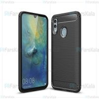 قاب محافظ ژله ای هواوی Fiber Carbon Rugged Armor Case For Huawei Honor 10 Lite / P Smart 2019