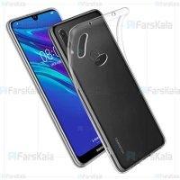 قاب محافظ ژله ای 5 گرمی کوکو هواوی Coco Clear Jelly Case For Huawei Y7 2019 / Y7 Prime 2019