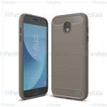 قاب محافظ ژله ای سامسونگ Fiber Carbon Rugged Armor Case For Samsung Galaxy J7 Pro / J7 2017