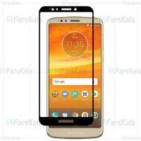 محافظ صفحه نمایش تمام چسب با پوشش کامل Glass Screen Protector For Motorola Moto E5