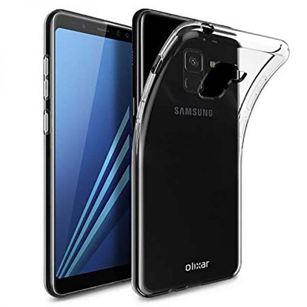 قاب محافظ ژله ای 5 گرمی کوکو سامسونگ Coco Clear Jelly Case For Samsung Galaxy A8 2018