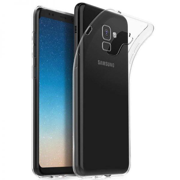 قاب محافظ ژله ای 5 گرمی کوکو سامسونگ Coco Clear Jelly Case For Samsung Galaxy A8 Plus 2018