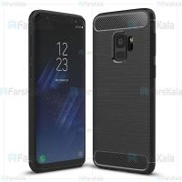 قاب محافظ ژله ای سامسونگ Fiber Carbon Rugged Armor Case For Samsung Galaxy S9