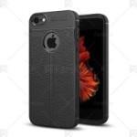 قاب محافظ ژله ای طرح چرم Auto Focus Jelly Case Apple iphone 4 & 4S