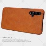 کیف محافظ چرمی نیلکین هواوی Nillkin Qin Leather Case For Huawei Honor 20
