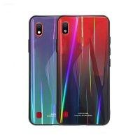 قاب محافظ لیزری رنگین کمانی سامسونگ Aurora Laser Case For Samsung Galaxy A10