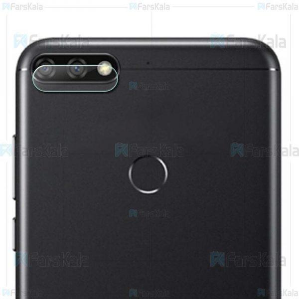 محافظ لنز دوربین Camera Lens Glass Protector For Huawei Y7 Prime 2018