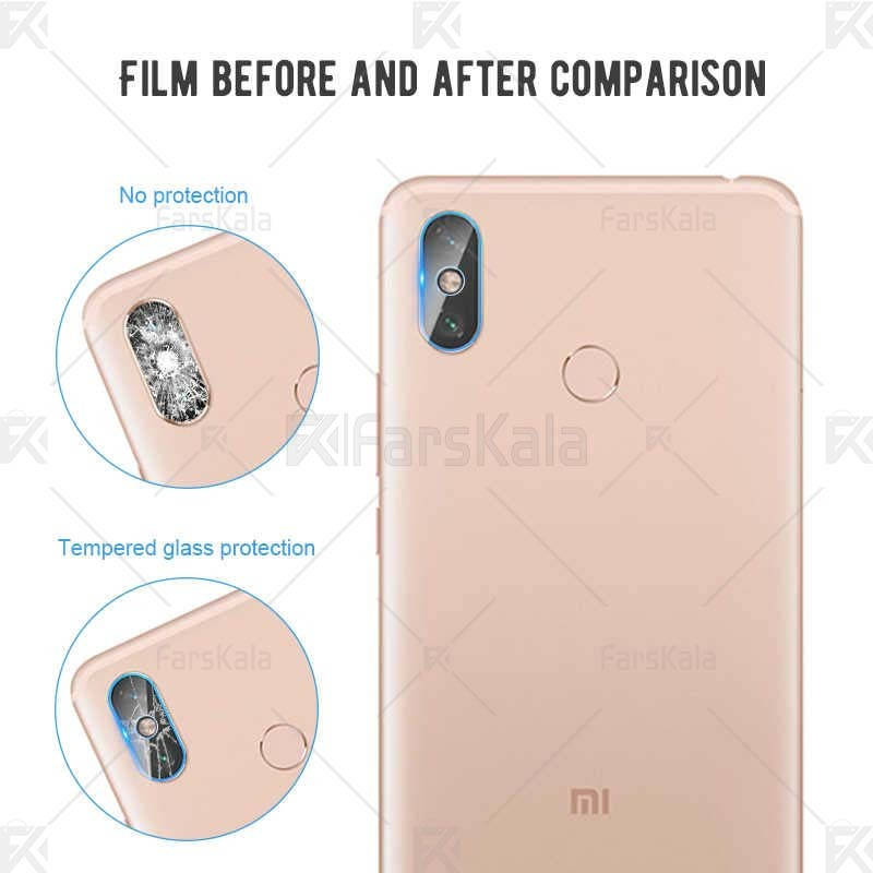 محافظ لنز دوربین Camera Lens Glass Protector For Xiaomi Redmi Note 6 Pro