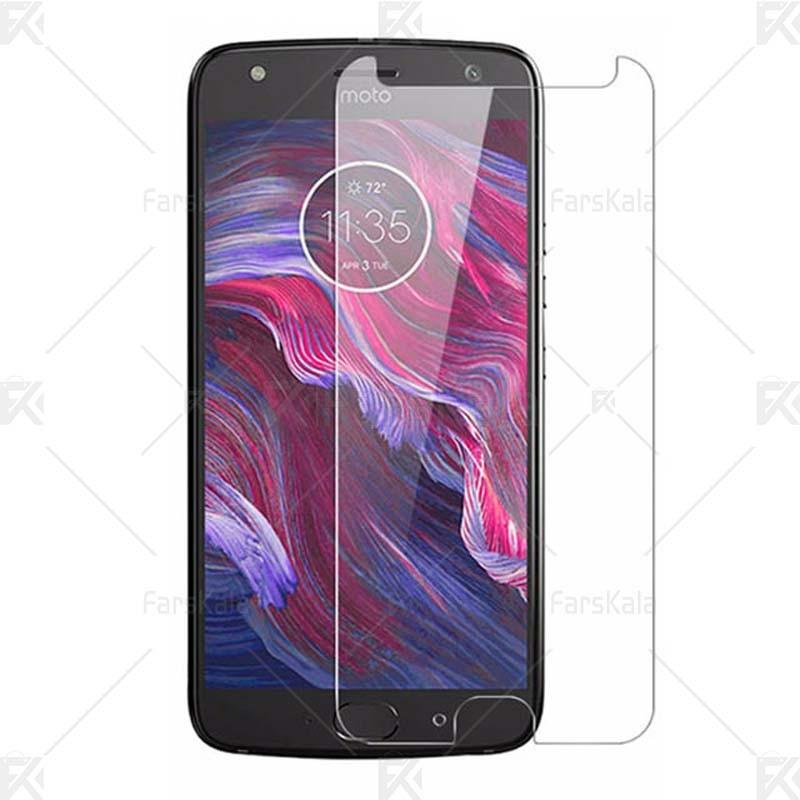 محافظ صفحه نمایش شیشه ای موتورولا Glass Screen Protector For Motorola Moto X4