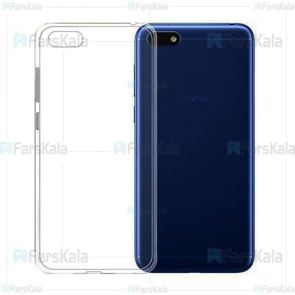 قاب محافظ ژله ای 5 گرمی کوکو هواوی Coco Clear Jelly Case For Huawei Y5 2018 / Y5 Prime 2018 / Honor 7s