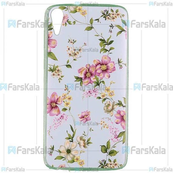 قاب محافظ طرح دار اچ تی سی Patterned Protective Frame Case For HTC Desire 828