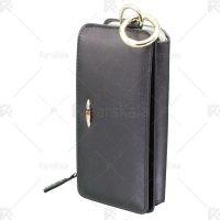 کیف چرمی پول و گوشی سامسونگ Leather Wallet Case For Samsung Galaxy S7 edge