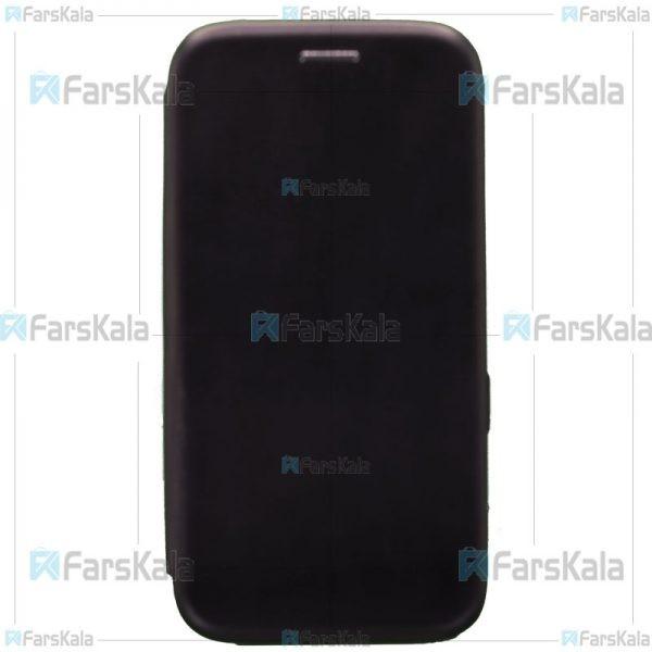 کیف محافظ چرمی سامسونگ Leather Standing Magnetic Cover For Samsung Galaxy S7