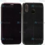 کیف محافظ چرمی سامسونگ Leather Standing Magnetic Cover For Samsung Galaxy M20