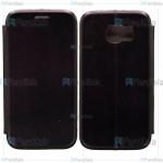 کیف محافظ چرمی سامسونگ Leather Standing Magnetic Cover For Samsung Galaxy S6