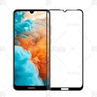 محافظ صفحه نمایش تمام چسب با پوشش کامل Full Glass Screen Protector For Huawei Y6 Pro 2019