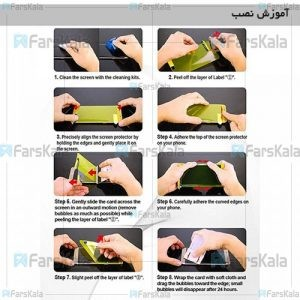محافظ صفحه نمایش نانو TPU Full Screen Protector For Samsung Galaxy A20