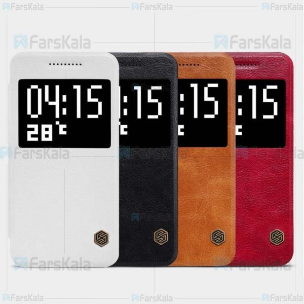 کیف چرمی نیلکین اچ تی سی Nillkin Qin Case For HTC One A9