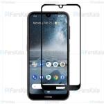 محافظ صفحه نمایش تمام چسب با پوشش کامل Full Glass Screen Protector For Nokia 2.2