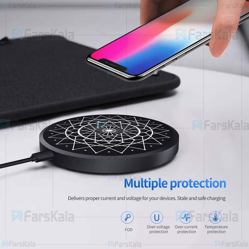 شارژر وایرلس نیلکین Nillkin PowerColor Fast Qi Wireless Charger