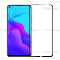 محافظ صفحه نمایش تمام چسب با پوشش کامل Full Glass Screen Protector For Huawei Nova 5i / P20 Lite 2019