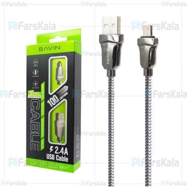 کابل میکرو یو اس بی باوین Bavin CB-087 USB Cable