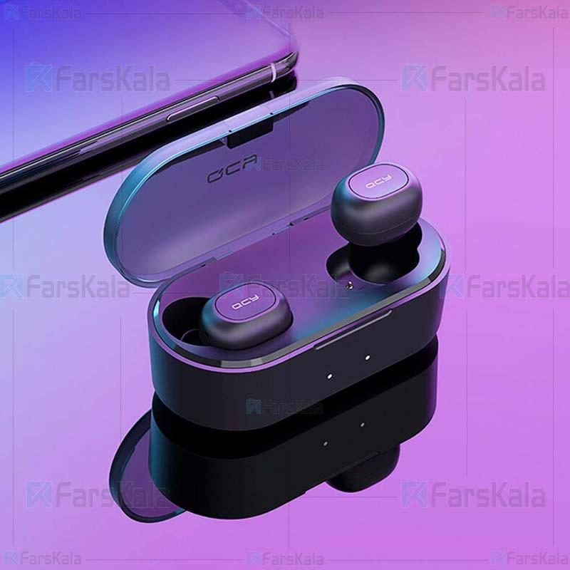 هندزفری بلوتوث دو گوش کیو سی وای QCY T1S Wireless Bluetooth Earphone