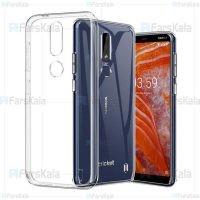 قاب محافظ ژله ای 5 گرمی نوکیا Clear Jelly Case For Nokia 3.1 Plus / Nokia X3