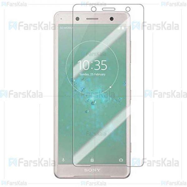 محافظ صفحه نمایش با پوشش کامل Full Glass Screen Protector For Sony Xperia XZ2