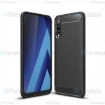 قاب محافظ ژله ای سامسونگ Fiber Carbon Rugged Armor Case For Samsung Galaxy A50
