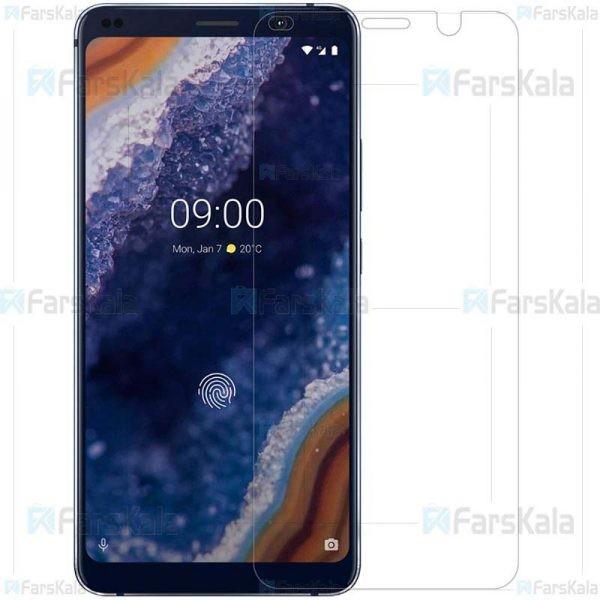 محافظ صفحه نمایش شیشه ای نوکیا Glass Screen Protector For Nokia 9