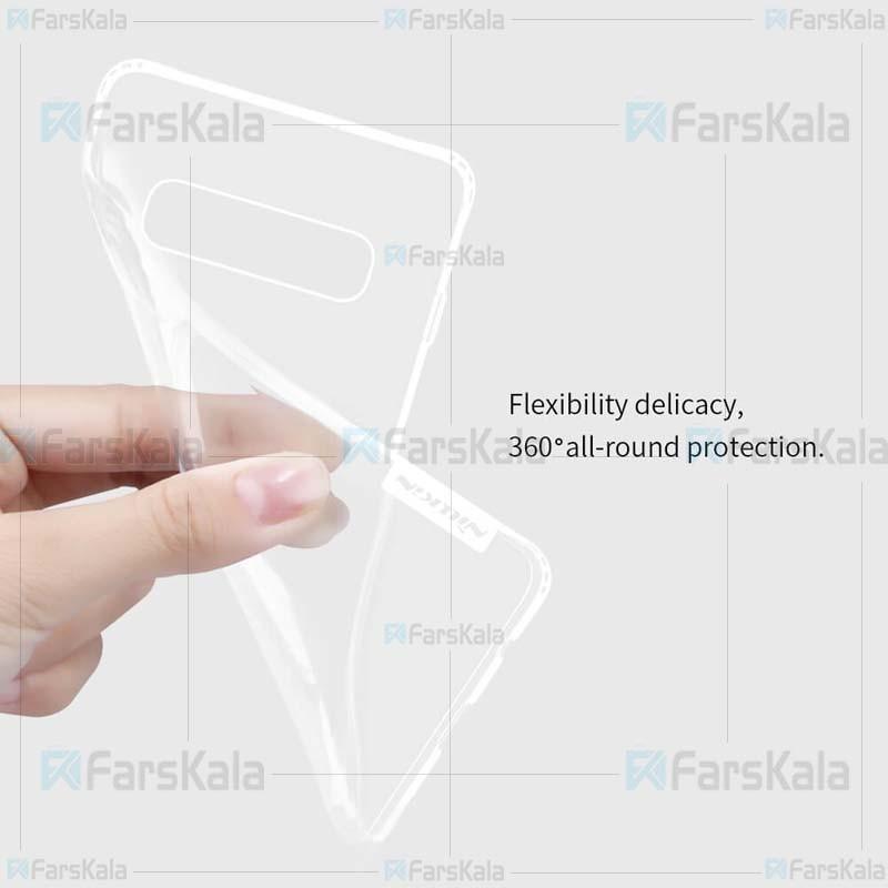 قاب محافظ ژله ای نیلکین سامسونگ Nillkin Nature Series TPU case for Samsung Galaxy S10