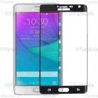محافظ صفحه نمایش با پوشش کامل Full Glass Screen Protector For Samsung Galaxy Note Edge